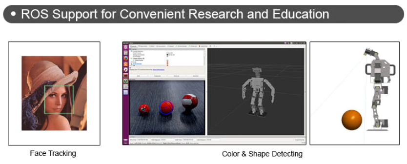 ROBOTIS OP3 ROS Support for Convenient Research and Education