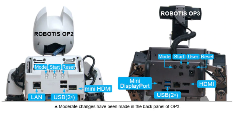 ROBOTICS OP2 and ROBOTICS OP3 Compare
